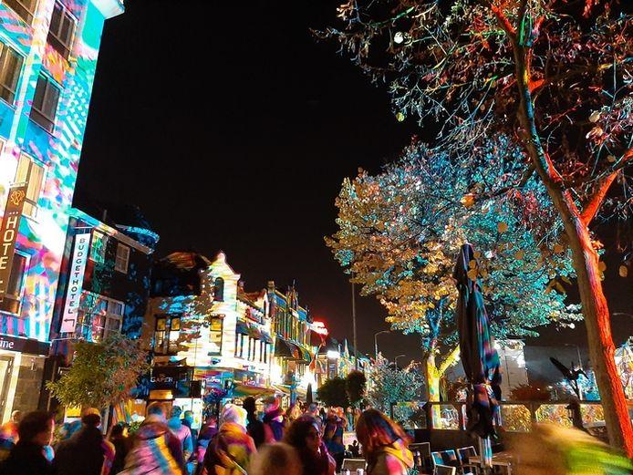 Het verlichte dorp: Glow in Eindhoven (lezersfoto).