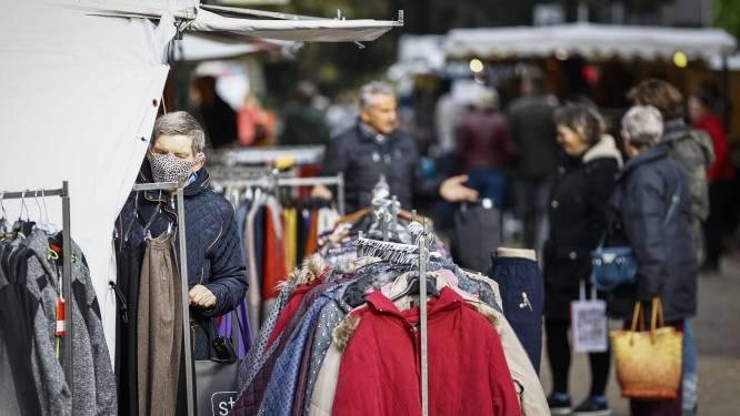 Donderdagmarkt terug naar originele locatie, maar kramen wel verder uit elkaar