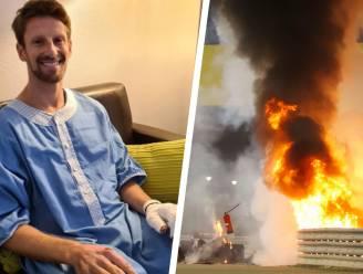 """Romain Grosjean onderging operatie aan de handen: """"Alles verliep goed"""""""
