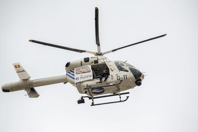 Illustratiebeeld: bij de klopjacht werd ook een helikopter ingezet.