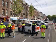 Ceintuurbaan afgezet om verdachte koffers in tram