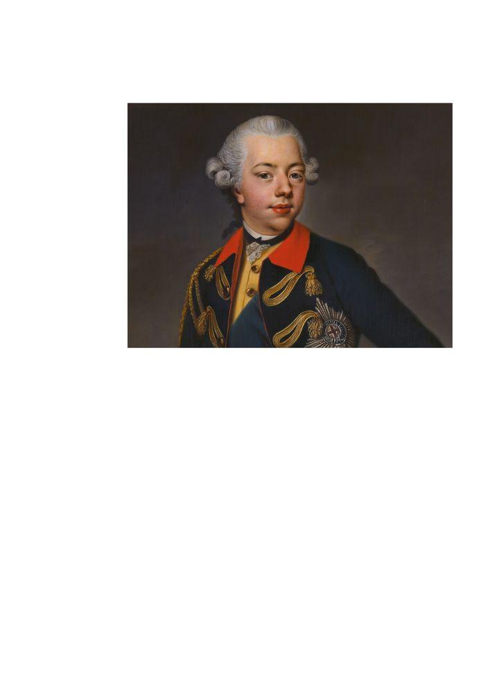 Prins Willem V werd in 1766, 18 jaar en stadhouder. Oss vierde een groot Oranjefeest met de Prinsenvlag op de kerk.