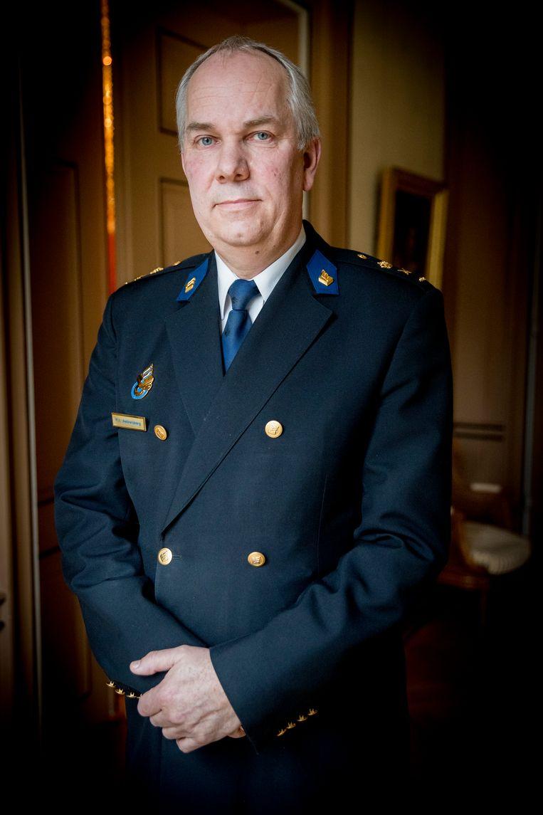 Pieter-Jaap Aalbersberg (voorheen politie Amsterdam, nu NCTV). Beeld ANP/Jerry Lampen