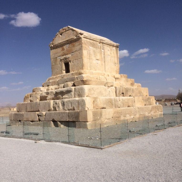 Tombe van Cyrus de Grote Beeld Rutger Pontzen