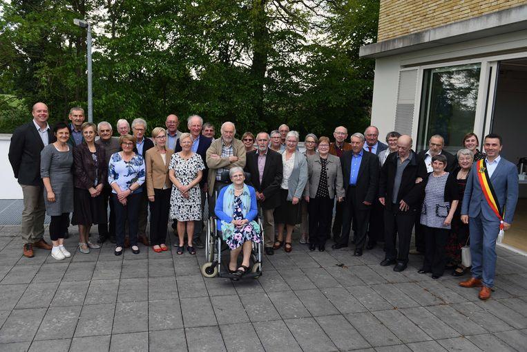 De gemeente Bierbeek vierde zijn gouden jubilarissen.