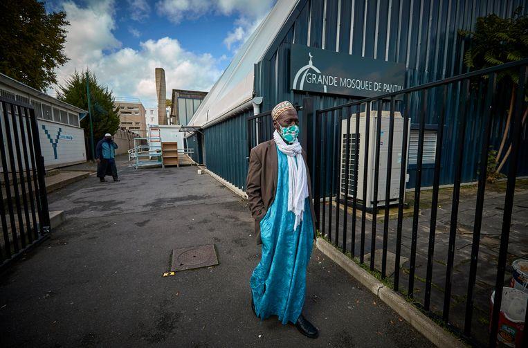 De Grande Mosquée van de Parijse voorstad Pantin krijgt een sluitingsbevel opgelegd. Beeld Getty Images