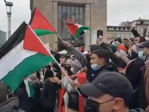 """Un slogan antisémite scandé lors de la manifestation pro-palestinienne à Bruxelles: """"Un appel au meurtre des juifs"""""""