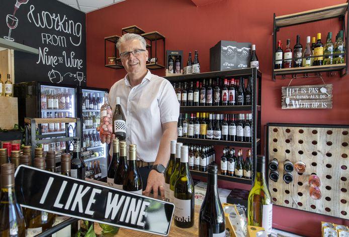 Ronald Westerhof opent donderdag 17 juni zijn nieuwe zaak 'I Like Wine' midden in het centrum van Hengelo.