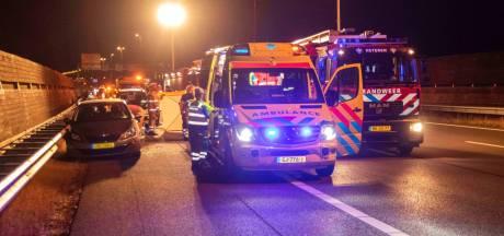 Automobilist gereanimeerd op A50 bij Heteren
