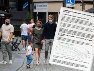 """Advies evaluatiecel openbaar gemaakt: """"Niet-essentiële verplaatsingen beperken in gemeenten met veel besmettingen"""", 750 besmettingen per dag bij """"ongewijzigd beleid"""""""