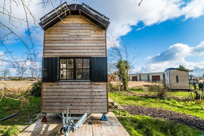 Nieuw op de lijst snelste stijgers is dit jaar 'tiny house'.