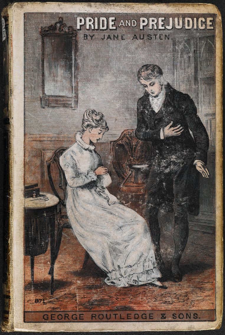 'Pride and Prejudice' van Jane Austen. Beeld Album / British Library