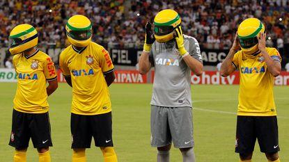 Favoriete voetbalclub eert Ayrton Senna op bijzondere wijze