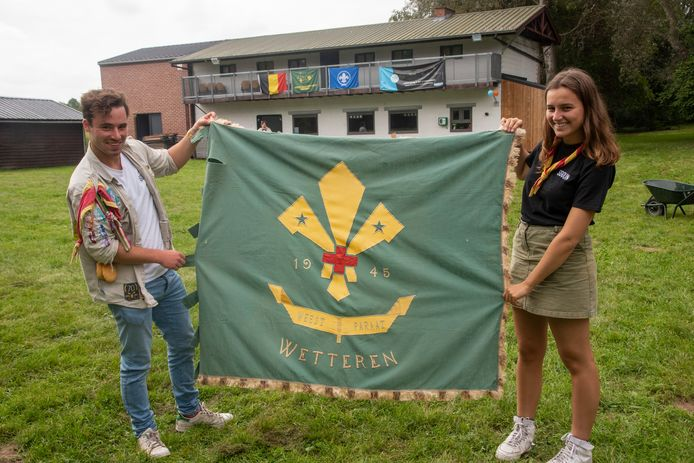 Scoutsgroep Prins Boudewijn viert haar 75ste verjaardag met een jaartje vertraging want ze bestaan sinds 1945.