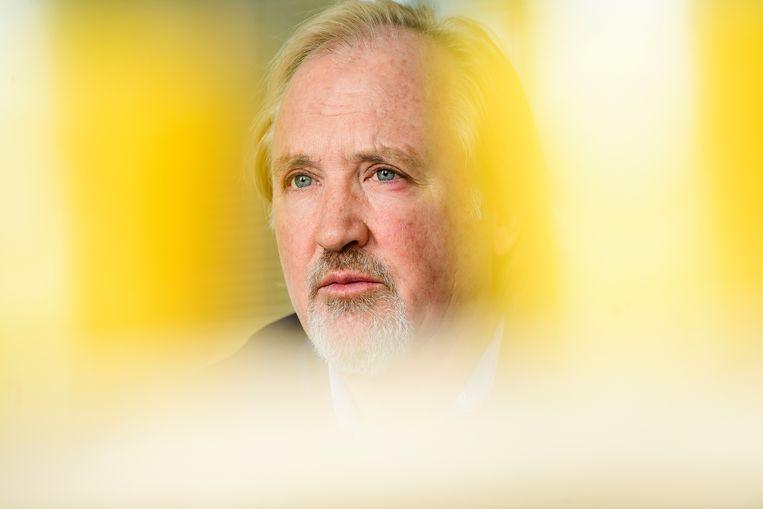 Telenet-CEO John Porter is geen fan van het plan voor een Vlaamse Netflix.  Beeld BELGA