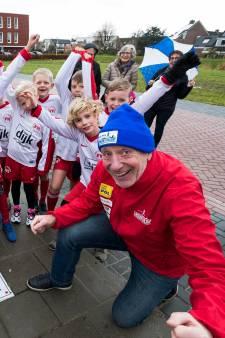 Start en finish van Linschotenloop heeft vaste plek in het dorp