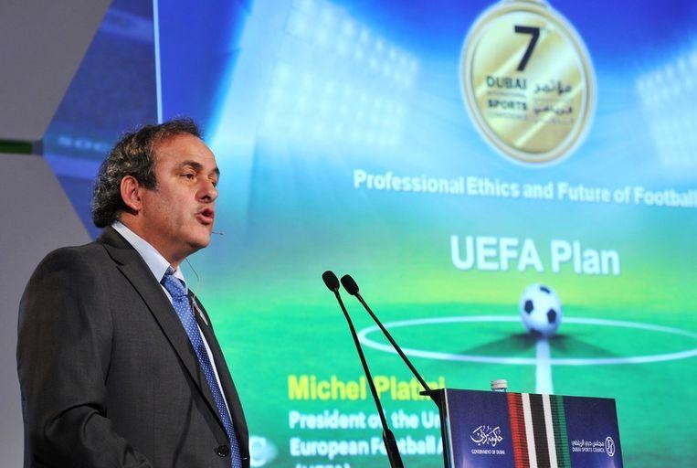Michel Platini. Beeld reuters