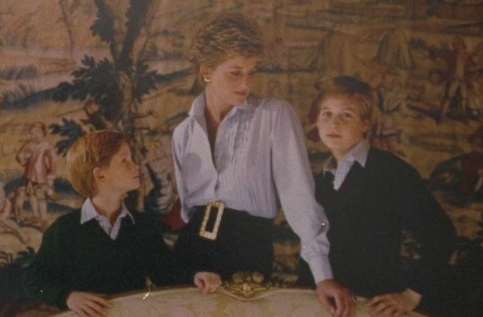 Het kerstkaartje van Diana uit 1993.