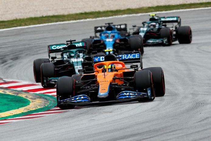 """""""Gagner des courses et devenir champion du monde"""": Lando Norris affiche ses ambitions avec McLaren."""