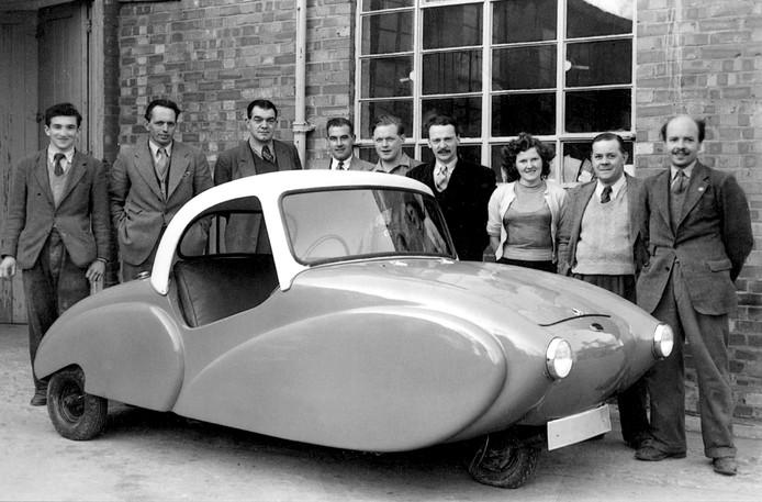 De Allard Clipper uit 1953 is een typisch Britse driewieler
