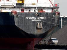 Russische zeelui zitten figuurlijk gevangen in Terneuzen