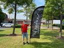 Aan het gemeentehuis komt vanaf zaterdag 10 juli een zomerbar van 't Hofke