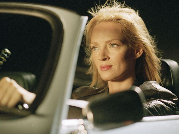Uma Thurman in een scene in Kill Bill 2. Beeld