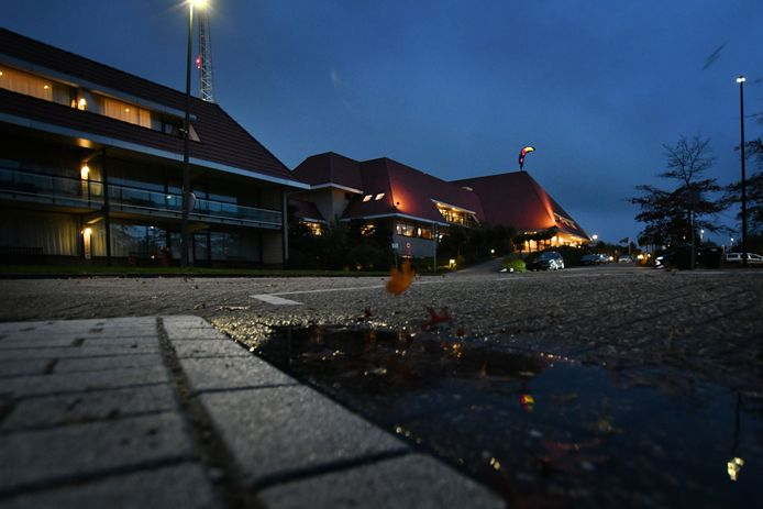 Het Van der Valk-hotel in Hengelo.