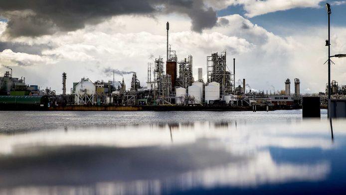 Chemieconcern Dupont, nu Chemours geheten, in Dordrecht.