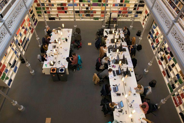Privacygegevens van onder andere gebruikers van de universiteitsbibliotheek Utrecht konden worden ingezien door onbevoegden. Beeld Werry Crone