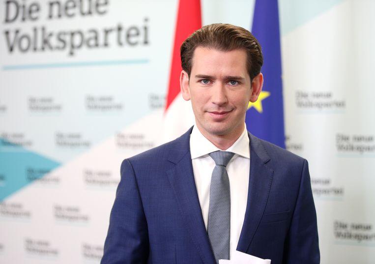 Voormalig Oostenrijks bondskanselier Sebastian Kurz. Beeld REUTERS