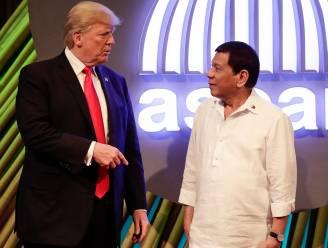 Trump looft goede verhouding met Duterte, onduidelijkheid over gesprek mensenrechten