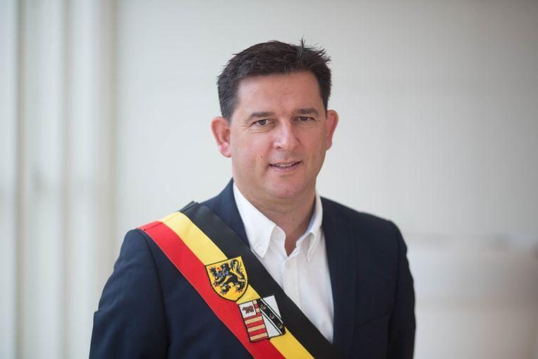 Burgemeester Mario Borremans van Heusden-Zolder.