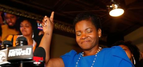 Historique: une socialiste en voie de devenir maire d'une grande ville américaine