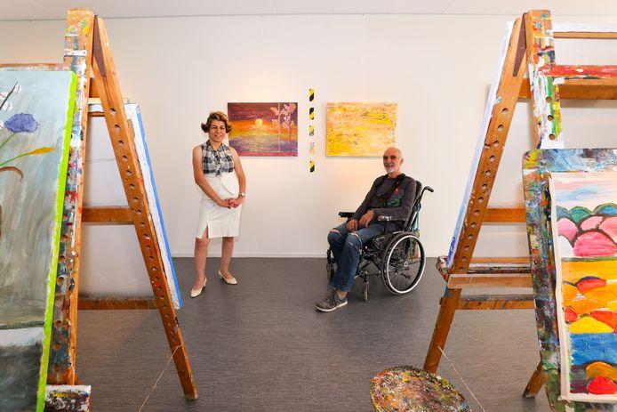 Bij de expositie in Sterkel zijn onder anderen werken te zien van Maryam Abdi-Biglouei en Luuk Buursen.
