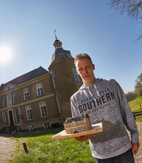 Damian gaat alle acht Vordense kastelen plus sportpark nabouwen: 'Met dit klusje ben ik een maand of vijf zoet'