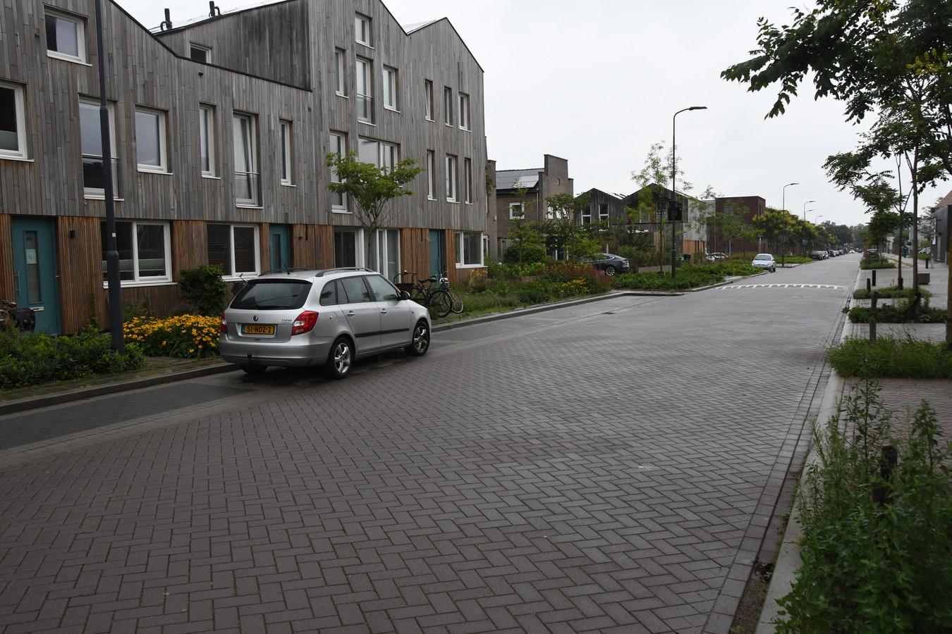 De Paardskerkhofweg als onderdeel van de evenementenroute.