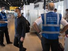 Teststraat Schiphol open voor geselecteerde vluchten uit landen met oranje en rood reisadvies