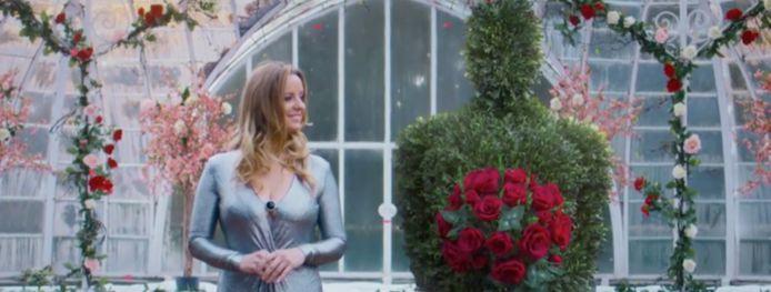 Elke Clijsters in 'The Bachelorette'.