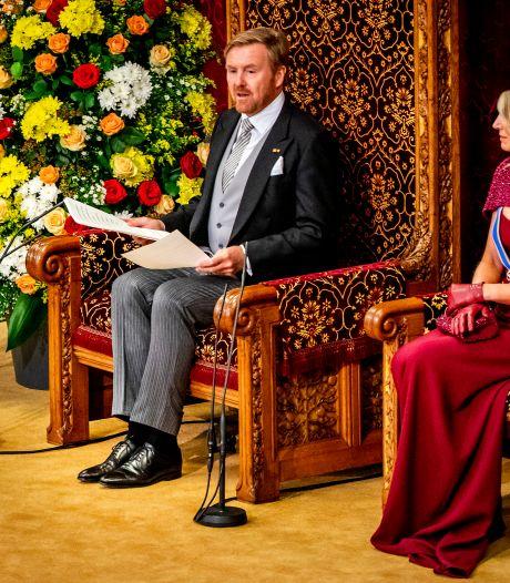 Prinsjesdag: Troon verhuist zondag en speciale mondkapjes