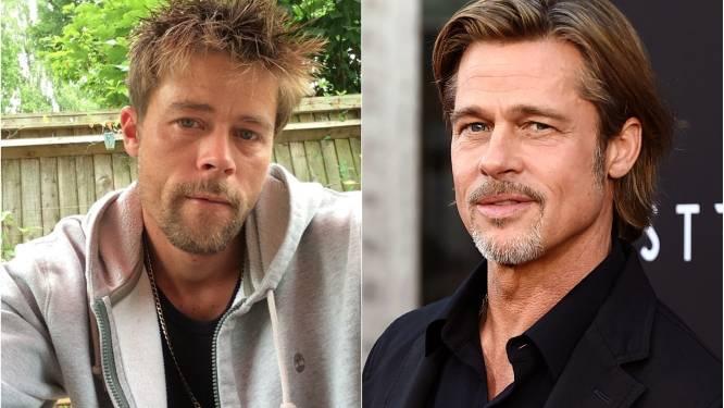 """Brad Pitt-lookalike moet datingapps verwijderen omdat geobsedeerde vrouwen hem stalken: """"Ik ben niet op zoek naar mijn Angelina"""""""