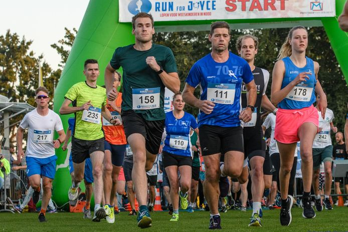 Run for Joyce, hardlopen voor een goed doel in Oosterwolde.