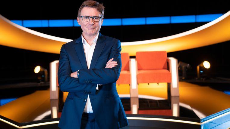 Erik Van Looy presenteert straks het zeventiende seizoen van 'De slimste mens ter wereld'. Beeld SBS