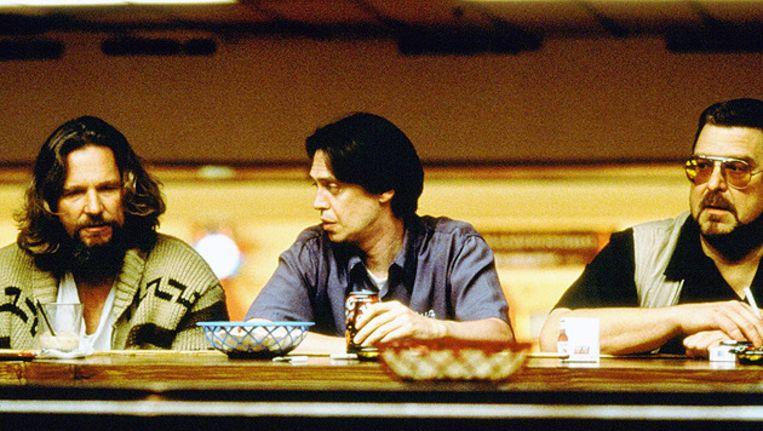 Jeff Bridges (L.), Steve Buscemi en John Goodman (R.) schitteren in The Big Lebowski. Beeld ANP Kippa