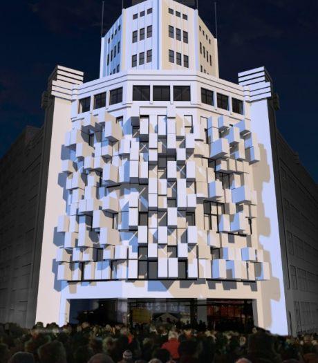 Lichttoren komt tot leven tijdens Glow in Eindhoven