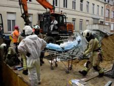 Accident de chantier à Anderlecht: deux ouvriers coincés dans un puits hospitalisés