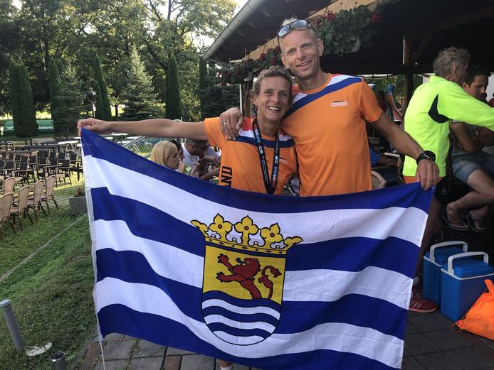 Wouter de Vries (rechts), hier op de foto met Leonie Ton.