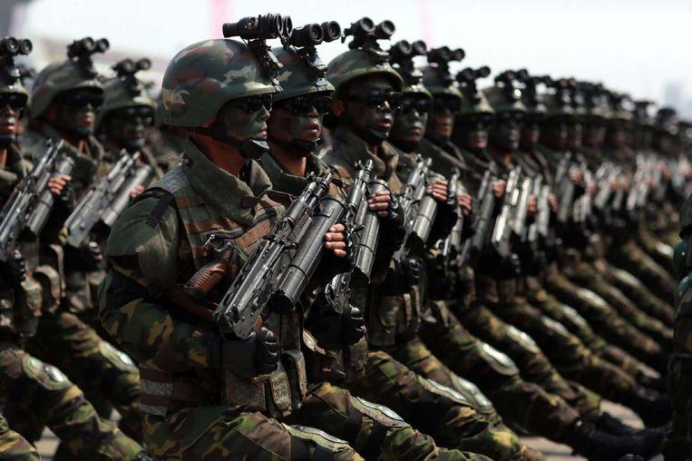 Noord-Koreaanse commando's probeerden in 1968 de toenmalige president van Zuid-Korea, generaal Park Chung-hee, te vermoorden. Seoul heeft naar verluidt een soortgelijk plan om Kim Jong-un te doden. Beeld AFP