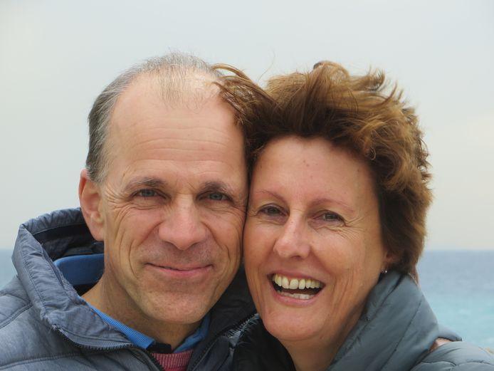 De lievelingsfoto van Jan Waltmans van hem en zijn vrouw Hedwig.
