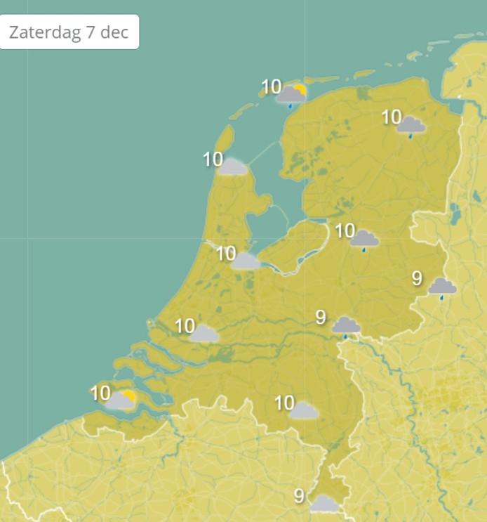 Zeeland is morgen volgens Weeronline wat het weer betreft het beste - of minst slechte - stukje van Nederland.